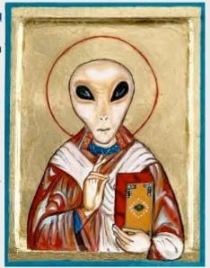 Alien priest
