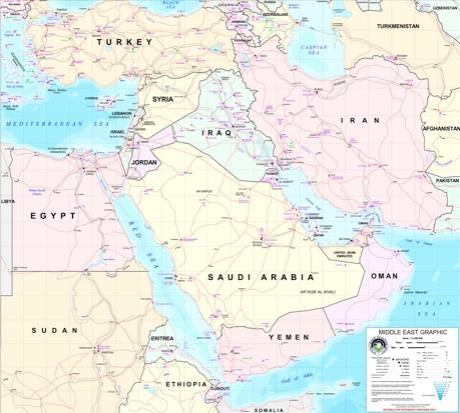 Middle East Map Strait Of Hormuz.The Straits Of Hormuz Radiological Blockade L A Marzulli S Blog