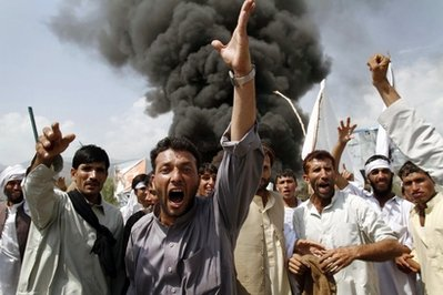 APTOPIX Afghanistan Quran Burning