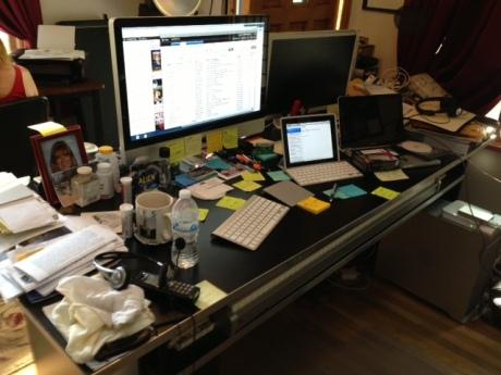 L. A.s Desk