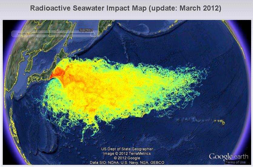 Fukushima - epa change forthcoming Fukushima_radiation_map