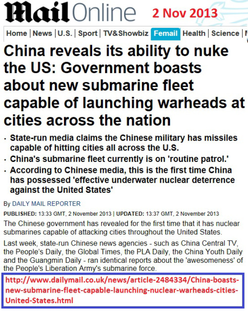 Chinese nukes