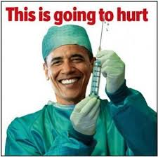 Obama with needle