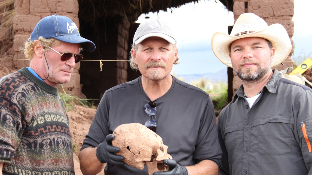 L. A. ELongates Skull with Brien and Aaron