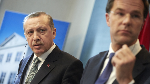 NETHERLANDS-TURKEY-KURDS-UNREST-PEACE-ERDOGAN