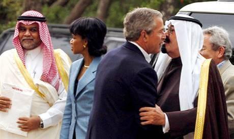 Bush & Saud